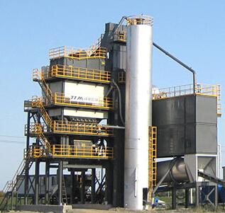 无成品仓LB系列固定式沥青搅拌设备