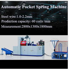 automatic pocket sprig machine