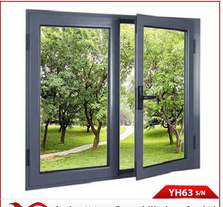 ISO International Certification Standard for Yuhong 63 Series Aluminum Alloy Casement door