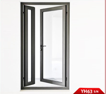 ISO International Certification Standard for Yuhong 63 Series Aluminum Alloy exterior bifold door