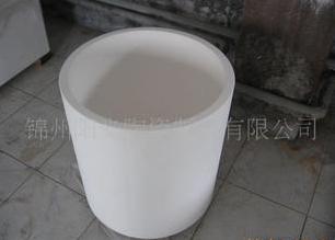 Crystal silicon ingot ceramic crucible