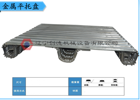 Three single corrugated metal tray