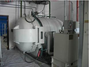 Vacuum sintering furnace dewaxing