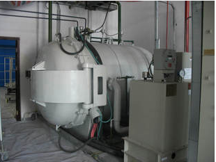 Carbon purification furnace