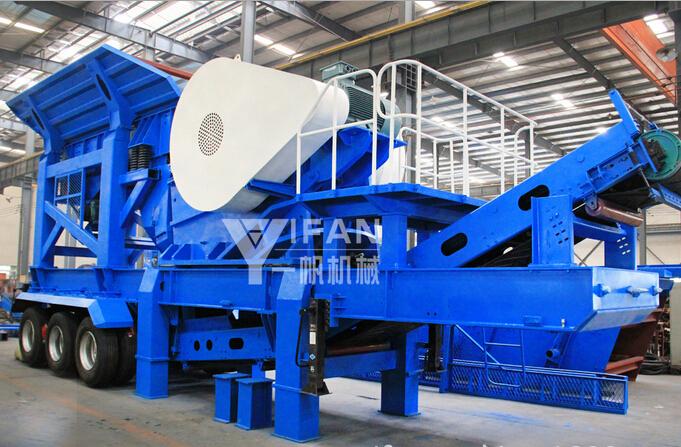Новая передвижная дробильная установка Ифан  крупное дробильно-сортировочное оборудование