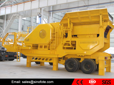 Portable Mining Stone Mobile Crusher Plant