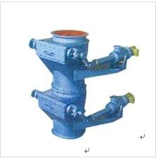 double flap smart cinder valve