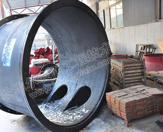 Double metal chromium carbide overlay wear pipes,elbow