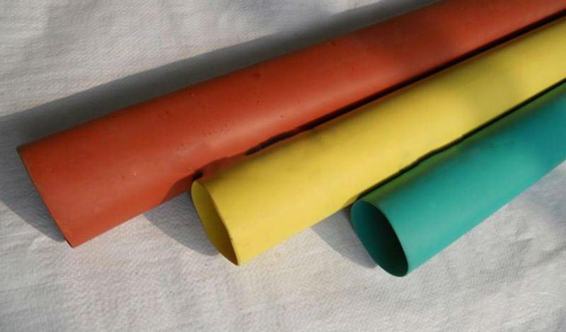 Bus bar heat shrink tubing
