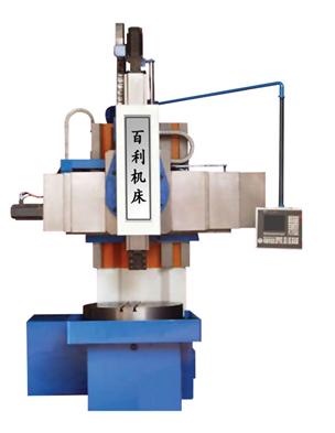 samll simens cnc vertical lathe machine tool CK518