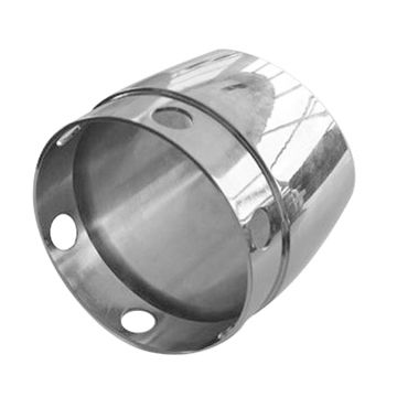 CNC parts, non-standard custom service, used for muffler, made of aluminum, provide surface finish