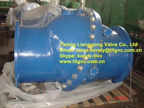 Non Slam Tilting Disc Check Valve