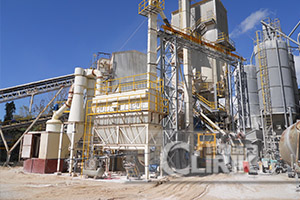 limestone grinding mill development in China