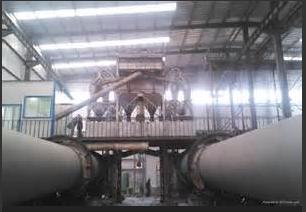 moly oxide calcination rotary kiln