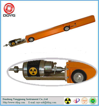 Gamma Radiographic NDT Equipment Pipeline Crawler YG-100-159r