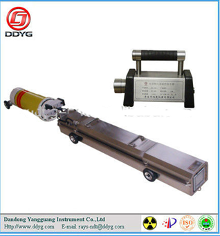 Magnetic Control X-ray Pipeline Crawler