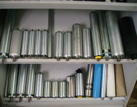 PVC gravity conveyor rollers
