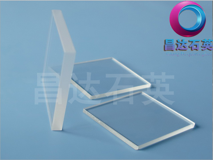 High-temperature transparent quartz glass