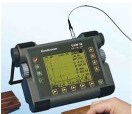 Portable Ultrasonic flaw detector USM