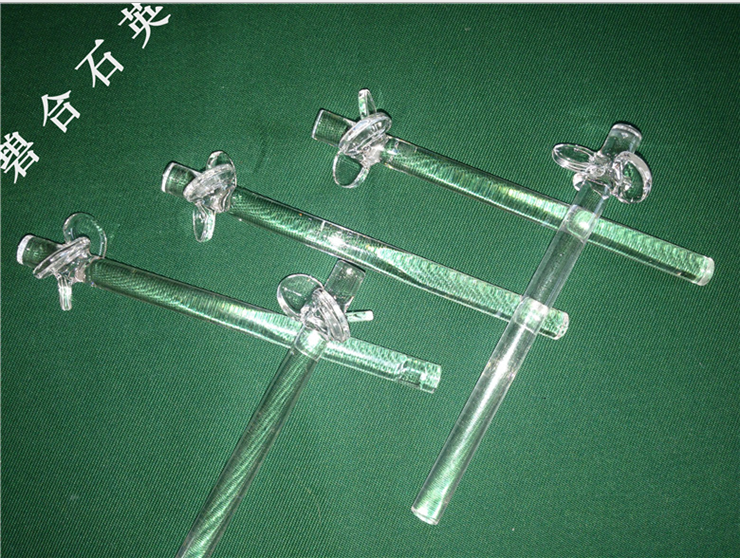 Quartz glass stirrer
