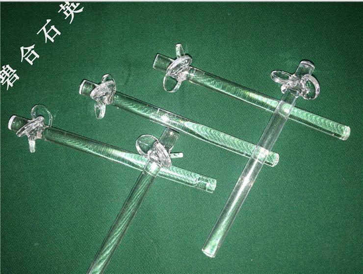 Quartz glass stirrer