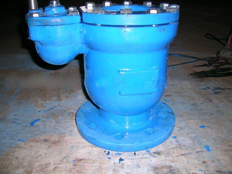 ductile iron double air valve