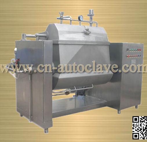200L 蒸汽横轴搅拌夹层锅