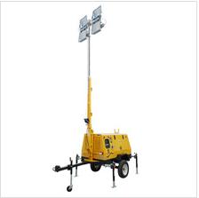 4*1000w Portable Contruction Mobile Tower Light 9M