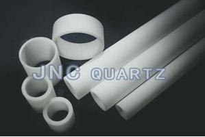 rotation fusion quartz tube