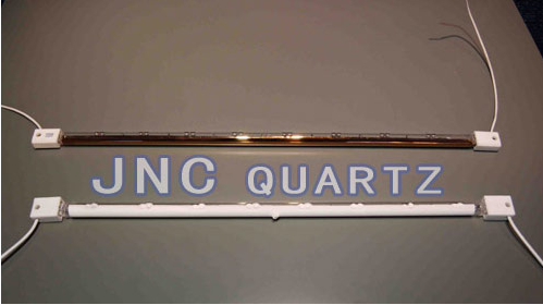 Quartz infrared heating lamps