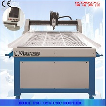 Automatic cnc router carving wood with vacuum table