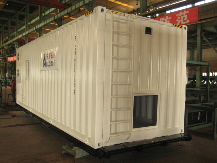 Oilfield explosion-proof container, oil field equipment box, explosion-proof box, explosion-proof equipment boxes