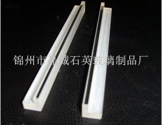 Transparent article precision quartz Quartz glass
