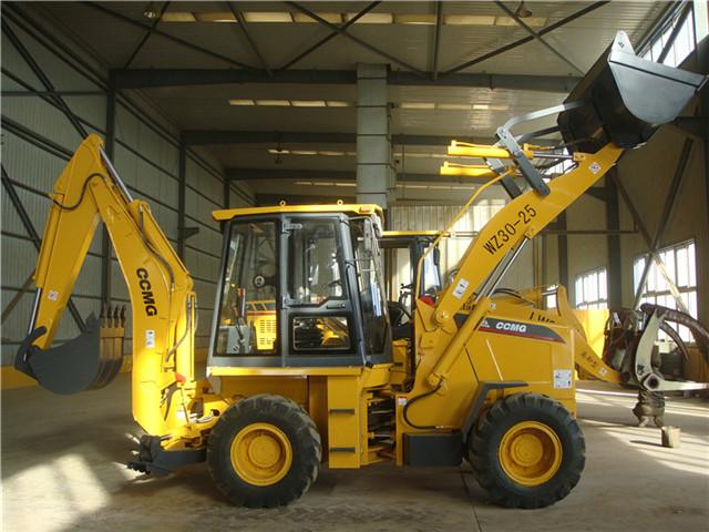 WZ30-25挖掘装载机