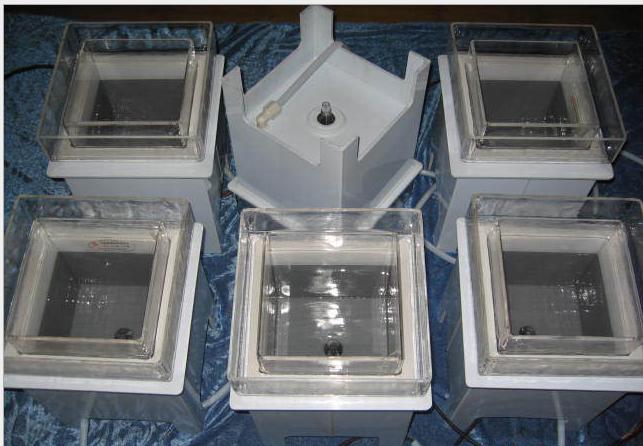 Quartz heating tank