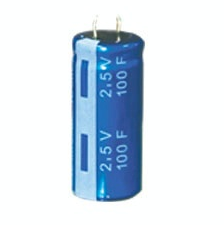 Super capacitor winding type 2.7 V - 100F