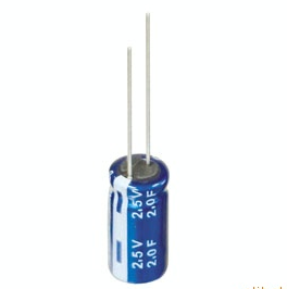 Super capacitor winding type 2.7 V - 2F alternative NEC