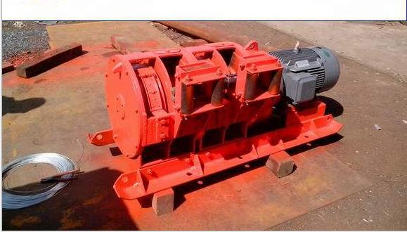 15 kw electric rake (scraper, tine, basin gear; helical; spindle; brake band)