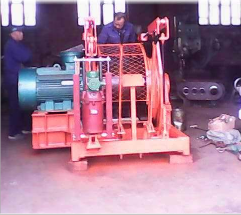 40 kw dispatching winch