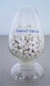 Predispersed rubber vulcanizing accelerator CBS-80