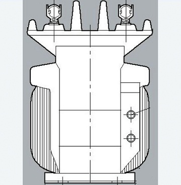 10kV dry type voltage transformer