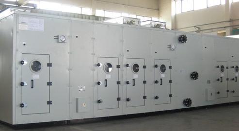 Air treated equipment