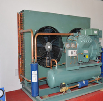 Marien regrigeration compressor unit/ Semi-hermetic refrigeraation compressor unit