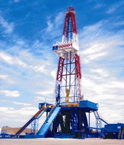 API 4F Oil Drilling Rig 650-2000HP