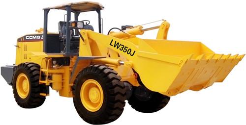 Погрузчик в руднике  LW350J