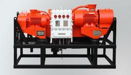 Drilling mud treatment centrifuge