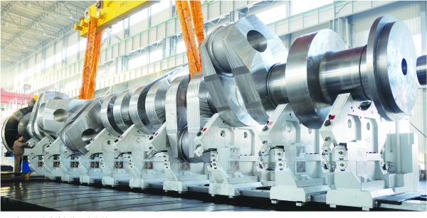 Type 90 Marine Crankshaft