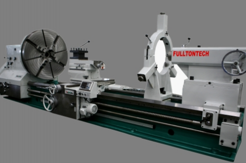 FULLTONTECH CKF61Series Horizontal Turning Big Table CNC Flat Bed Lathe with Steady Rest