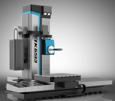 FULLTONTECH Heavy Duty Hole Boring Travelling Column Horizontal CNC Boring Machine