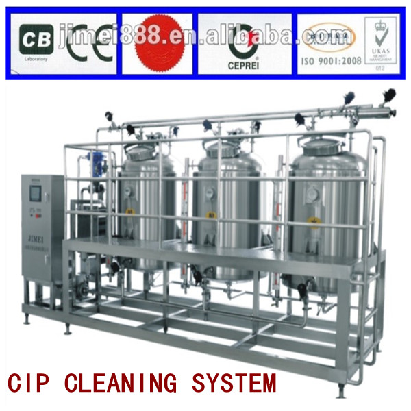 automatic CIP clean into process unit machinery